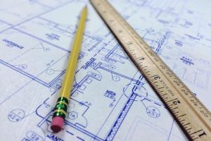 bouwtekening van HR
