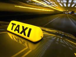 taxi rijden is diensverlening